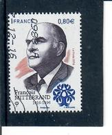 Yt 5089 Francois Mitterrand Code Roc 09831a - France
