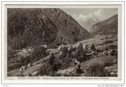 Peio Pejo Antica Fonte Trento Panorama Degli Alberghi Viaggiata 1935 - Trento