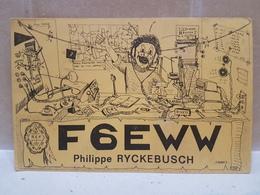 France Amateur Radio Station Card  1973 - Radio-amateur