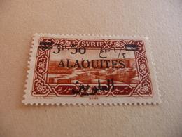 TIMBRE   ALAOUITES      N  35     COTE  1,80  EUROS   NEUF  LUXE** - Alaouites (1923-1930)
