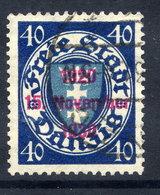 DANZIG 1930 10th Anniversary Of Free City Overprint On 40 Pfg.. Used. Michel 227 - Danzig