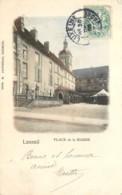 70 - LUXEUIL - Lot De 2 Cpa - Rue Carnot Et Place De La Mairie En 1905 - Luxeuil Les Bains