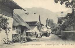 73 - SAINT PIERRE D'ALBIGNY - ALBIGNY - La Grande Rue Animée - Saint Pierre D'Albigny