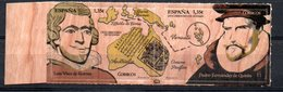 Spain Discover Oceania On Wood S/A 2017 MNH - 1931-Aujourd'hui: II. République - ....Juan Carlos I