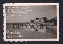 REAL PHOTO PORTUGAL FIGUEIRA DA FOZ NATAL DE 1946 (É UMA FOTO) - Portugal