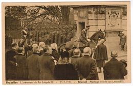 Brussel, Bruxelles, L'Avènement Du Roi Leopold III, Plechtige Intrede Van Leopold III (pk52765) - Fêtes, événements