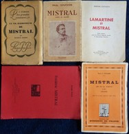 Lot De 5 Livres Sur Frédéric MISTRAL . - Livres, BD, Revues