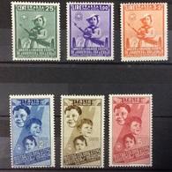 Italie PA N° 96 à 101 Neufs Avec Charnière POSTE AERIENNE - 1900-44 Vittorio Emanuele III