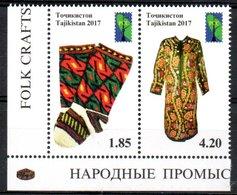 Tajikistan Costumes RCC PCC 2017 MNH - Tayikistán