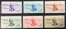 Italie PA N° 78 à 83 Neufs Avec Charnière POSTE AERIENNE - 1900-44 Vittorio Emanuele III