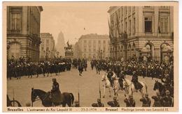 Brussel, Bruxelles, L'Avènement Du Roi Leopold III, Plechtige Intrede Van Leopold III (pk52767) - Fêtes, événements