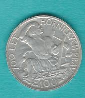 Czechoslovakia - 100 Korún - 1949 - Jihlava Mining - KM29 - Czechoslovakia