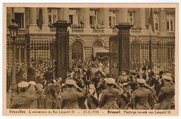Brussel, Bruxelles, L'Avènement Du Roi Leopold III, Plechtige Intrede Van Leopold III (pk52768) - Fêtes, événements