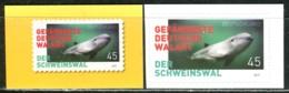 BRD - Mi 3437 Gestanzt Aus FB 84 ECKE REO - ** Postfrisch (A) - 45C         Der Schweinswal - Ausgabe 02.01.2019 - Ungebraucht