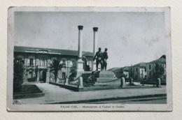 PALMI - MONUMENTO AI CADUTI IN GUERRA - VIAGGIATA FP - Reggio Calabria