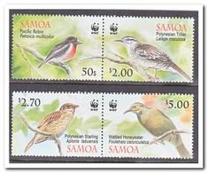 Samoa, Postfris MNH, Birds, WWF - Samoa