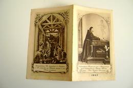1957  Nativita  Calendarietto Religioso Per I Benefattori Dell'Orfanotrofio Padre Monti, Milano   CALENDARIO CALENDRIER - Calendriers