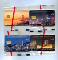Hong Kong Chip Cards, Hong Kong Returns To The Motherland (4pcs,MINT) - Hong Kong