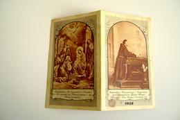 1958  Nativita  Calendarietto Religioso Per I Benefattori Dell'Orfanotrofio Padre Monti, Milano   CALENDARIO CALENDRIER - Calendriers