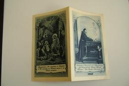 1960  Nativita  Calendarietto Religioso Per I Benefattori Dell'Orfanotrofio Padre Monti, Milano   CALENDARIO CALENDRIER - Calendars
