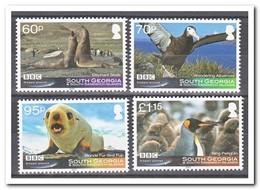 Zuid Georgia, Postfris MNH, Birds, Seals - Zuid-Georgia