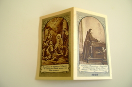 1959  Nativita  Calendarietto Religioso Per I Benefattori Dell'Orfanotrofio Padre Monti, Milano   CALENDARIO CALENDRIER - Calendars