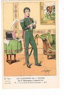 Uniforme 1er Empire. Le 7e Chasseurs.Colonel  De St Chamans.1812. J.E Hilpert.  ( T.u.34) - Uniformi