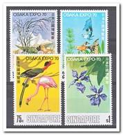 Singapore 1970, Postfris MNH, Birds - Singapore (1959-...)