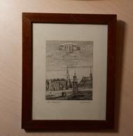 Mons En 1531 - Reproduction D'un Dessin Gravé Par Louis Greuse Tableau De Clément Stiévenart - Estampes & Gravures