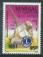Sénégal N° 660 XX  5ème Convention Du Lions Club,  Sans Charnière, TB - Senegal (1960-...)