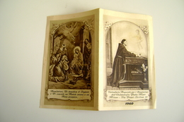 1960  Nativita  Calendarietto Religioso Per I Benefattori Dell'Orfanotrofio Padre Monti, Milano   CALENDARIO CALENDRIER - Calendriers