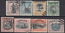 LABUAN 1894 - MiNr: 47-55 8x  Used - Nordborneo (...-1963)