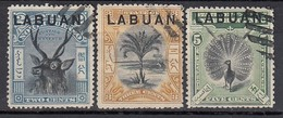 LABUAN 1897 - MiNr: 70-78  3x  Used - Nordborneo (...-1963)