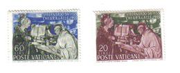 CITTA' DEL VATICANO 1953 8° Centenario Morte San Bernanrdo Da Chiaravalle  NUOVI ** Lievi Ingiallimenti COD.FRA.393 - Nuovi