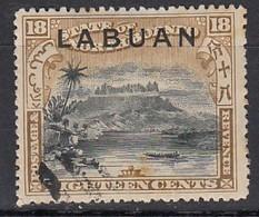 LABUAN 1898 - MiNr: 82  Used - Nordborneo (...-1963)