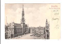 BRUXELLES - PLACE DE L HOTEL DE VILLE - Squares