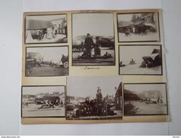 ETRETAT 39 Photographies 1905 - 3 Planches Recto- Verso - Lieux