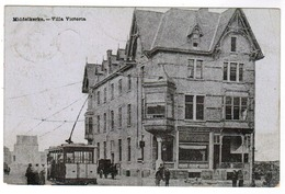 Middelkerke, Villa Victoria, Tram, Tramway (pk52778) - Middelkerke