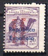 Sello Nº 39bhii Sahara - Sahara Español