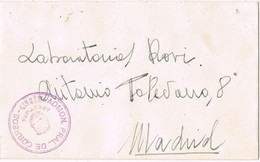 30965. Carta Franquicia Administracion CORREOS De MADRID 1947. Mutualidad Postal - 1931-Hoy: 2ª República - ... Juan Carlos I
