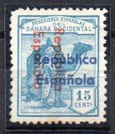 Sello Nº 38bhii Sahara - Sahara Español