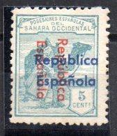 Sello Nº 36bhii  Sahara - Sahara Español