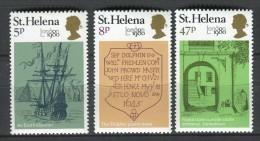 Santa Helena 1980. Yvert 326-28 ** MNH. - Isla Sta Helena