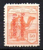 Sello Nº 43ahcc  Sahara - Sahara Español