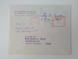 AZIONE CATTOLICA  Roma Unione Uomini 1960 EMA - Affrancature Meccaniche Rosse (EMA)