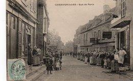 23-CHENERAILLES-RUE DE PARIS- - Chenerailles