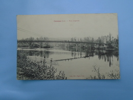 Carrennac , Pont Suspendu - France