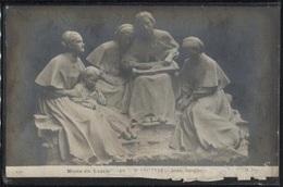 """CPA - Musée Luxembourg PARIS - H.LEFIEVRE - """"Jeunes Aveugles"""" - Sculptures"""