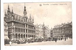 BRUXELLES - LA GRAND PLACE MAISON DU ROI - Squares