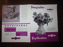 L IMAGINATION N 5 PUBLICITE MEDICALE : DEGUISEZ VOUS EN DIRIGEABLE,CHANSON FIN DE SIECLE,FLEUR DE PLUMES,ARTS MENAGERS - Advertising